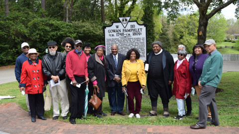 Historic highway marker dedication honors local preacher and icon